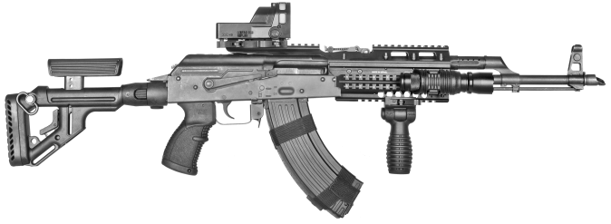 AGR-47 ON WEAPON SMALLER M-21