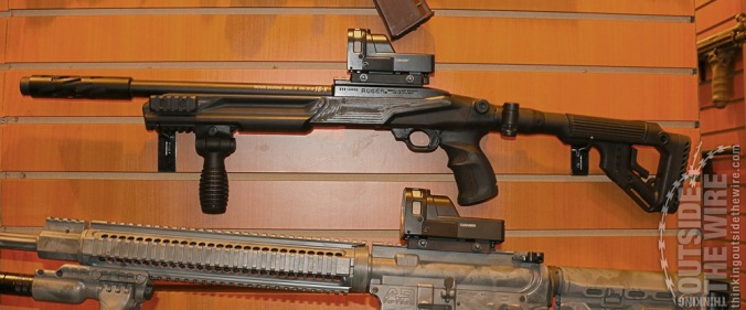 New FAB Defense IDF-issue Ruger 10/22 Tactical Stock.